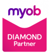 Myob Diamond Partner Logo