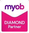 Myob Diamond Partner Logo